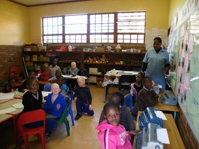 Tshilidzini Special School Classroom